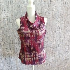 Coldwater Creek  Sleeveless Blouse - Size XS